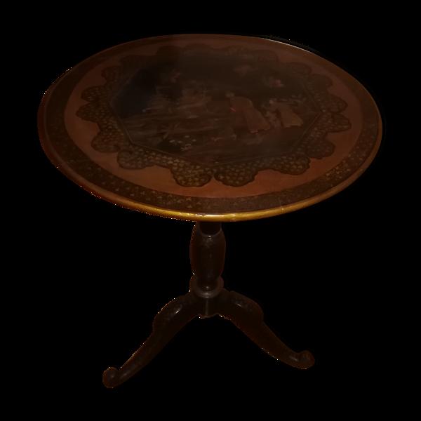 Guéridon rabattable Napoléon III