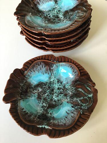 Set de 6 assiettes Vallauris