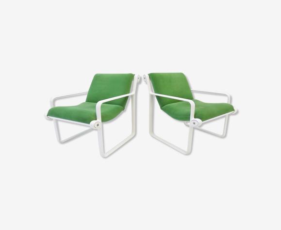 Lot de 2 fauteuils Sling 2011 par Bruce Hannah & Andrew Morrison, Knoll