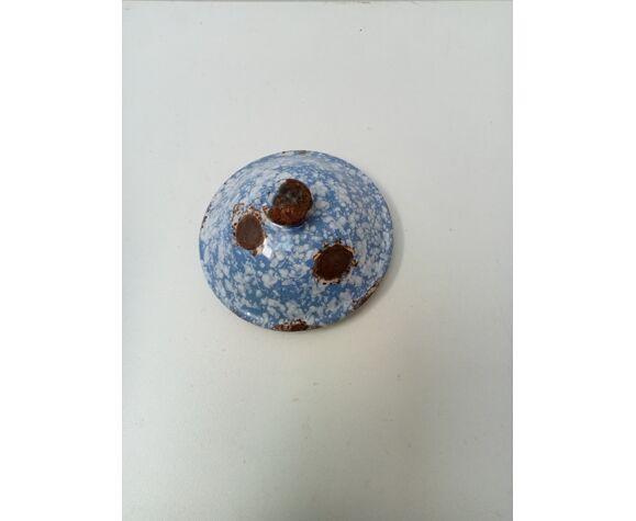 Cafetière émaillée bleu