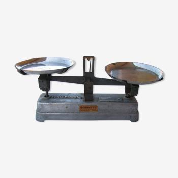 Balance en aluminium plateaux en inox