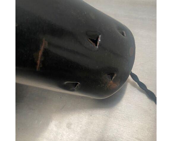 Suspension industrielle emaillée asymetrique 33 cm