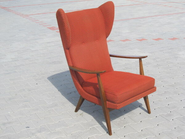Fauteuil Wing chair Knoll Antimott