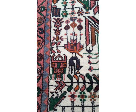 Tapis orient laine nouée main 100x150cm