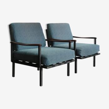 Les fauteuils d'Osvaldo Borsani pour Tecno 1961