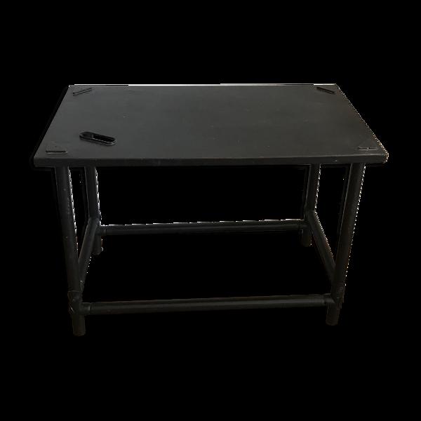 Table basse d'appoint métal