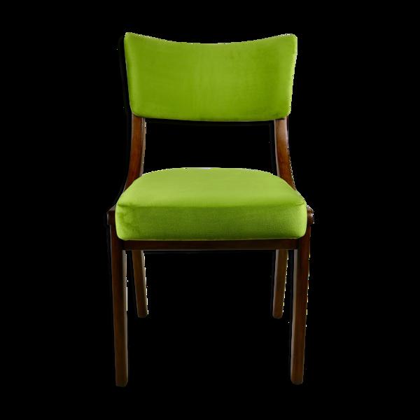 Chaise verte vintage