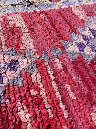 Tapis berbere boucherouite 80x290 cm