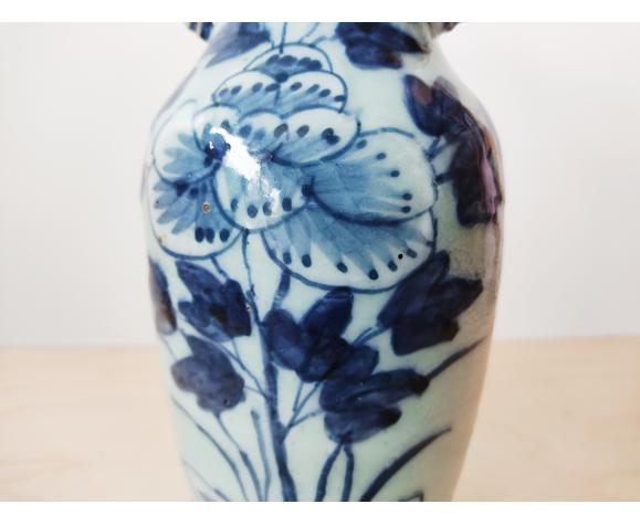 Vase céladon en grès Chine fin du 19e siècle