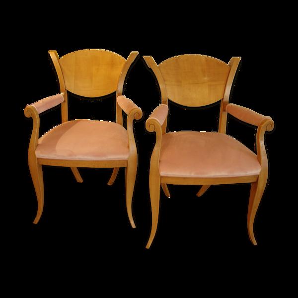 Selency Paire de fauteuils 80