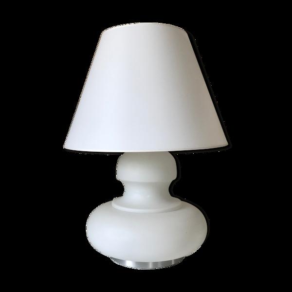 Lampe en opaline années 70