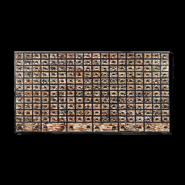 Selency Meuble d'atelier en bois à 204 tiroirs
