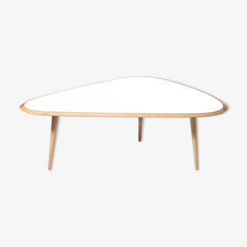 Table fifities large ivoire
