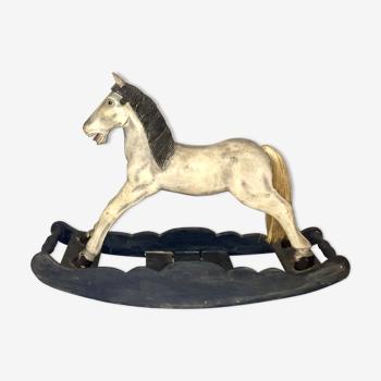 Cheval à bascule fin XIX début XX