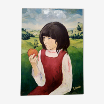 Portrait de petite fille