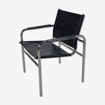 Postmodern lounge chair by Tord Bjorklund for ikea Klinte Chair, 1980s