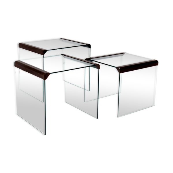 Tables gigognes T35 par Pierangelo Gallotti, Italie