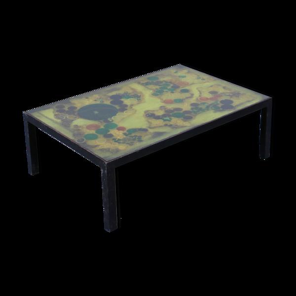Table basse en résine