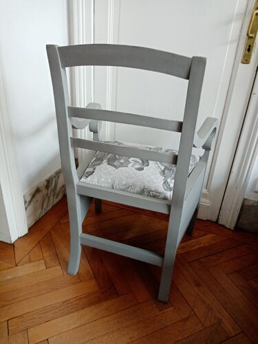 Fauteuil toile Jouy