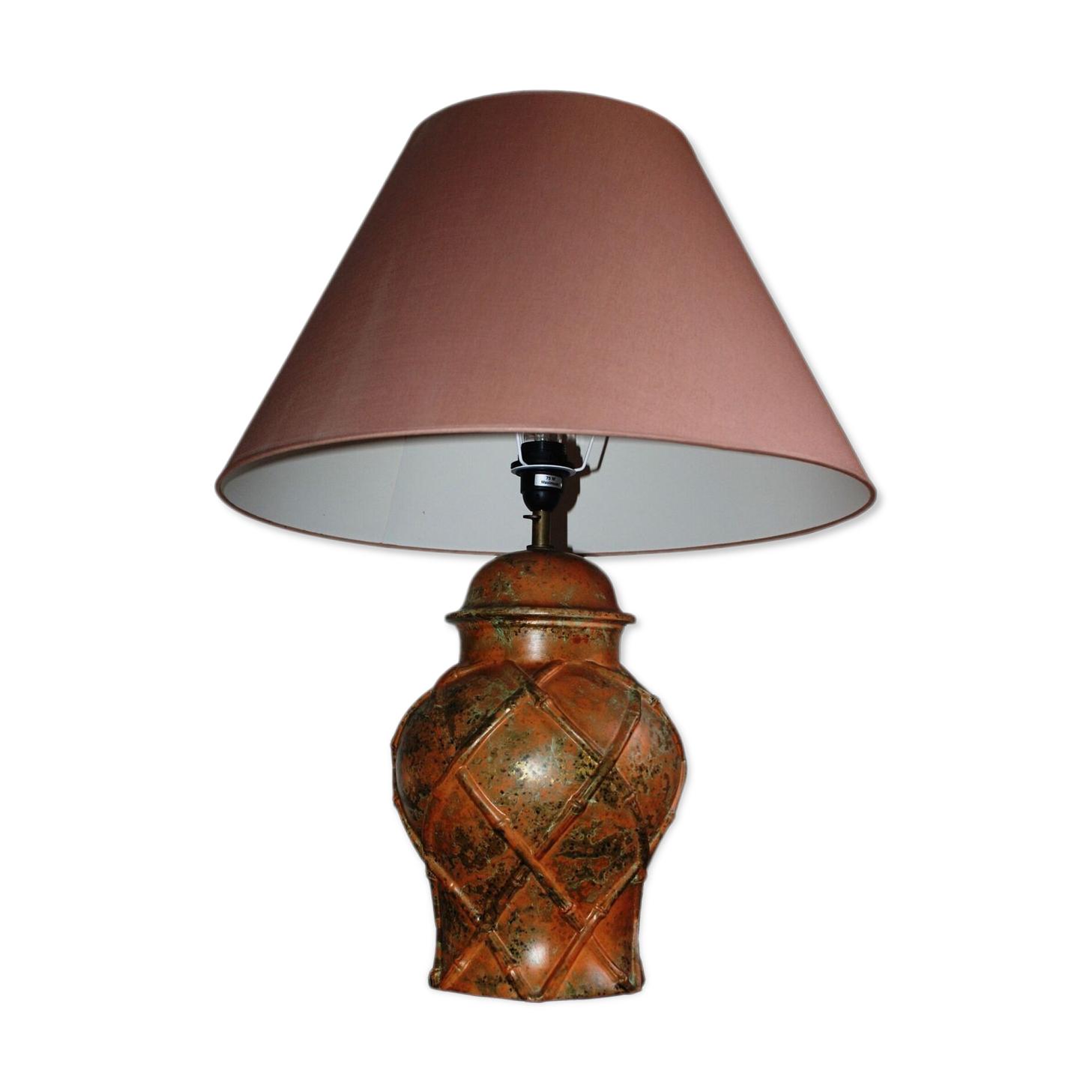 Lampe à poser Roche & Bobois « bambou »