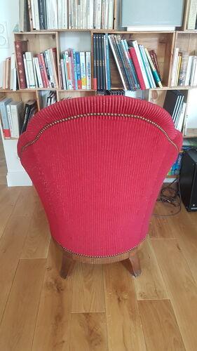 Lot de deux fauteuils années 1930