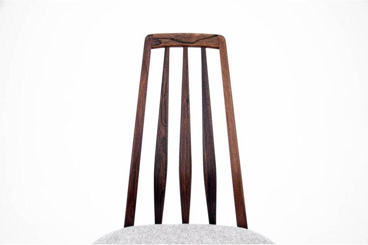 Lot de 6 chaises Niels Koefoed Danemark, années 1960