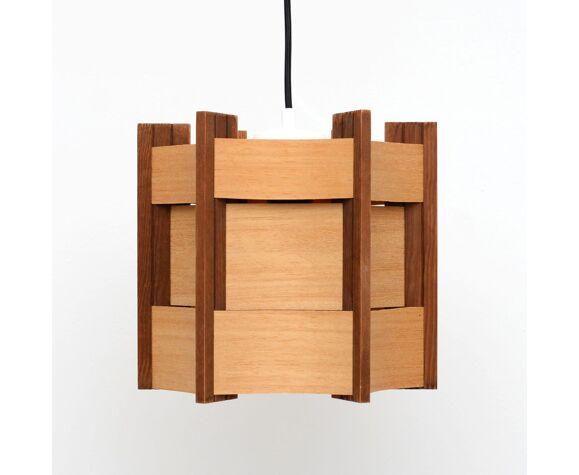 Suspension en bois danois, années 60