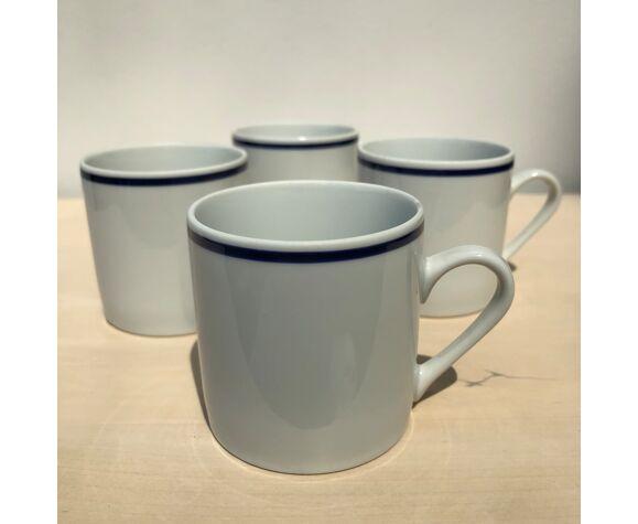 Tasses à café porcelaine