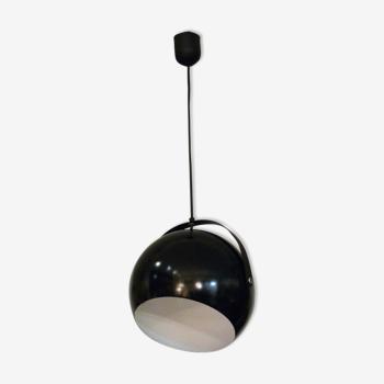 Flexible black hanging lamp