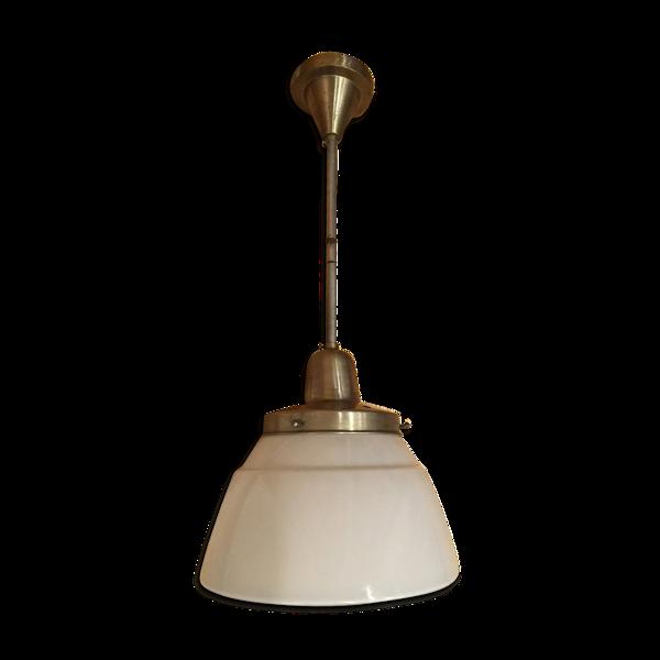 Lampe vintage suspension 1950