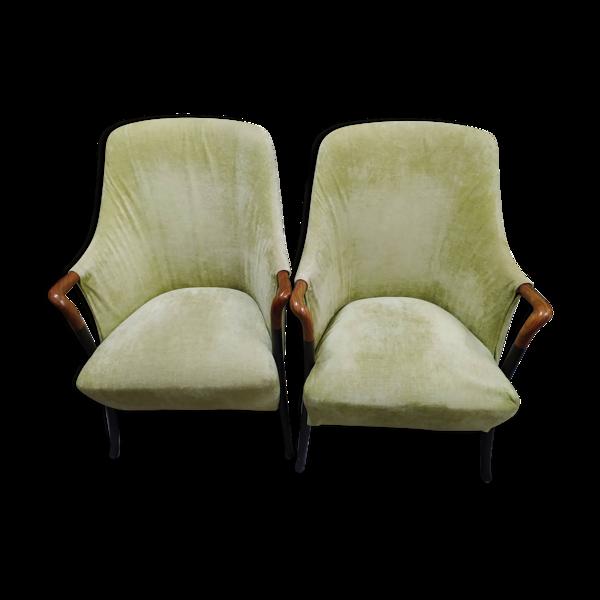 Paire de fauteuils Progetti pour Giorgetti