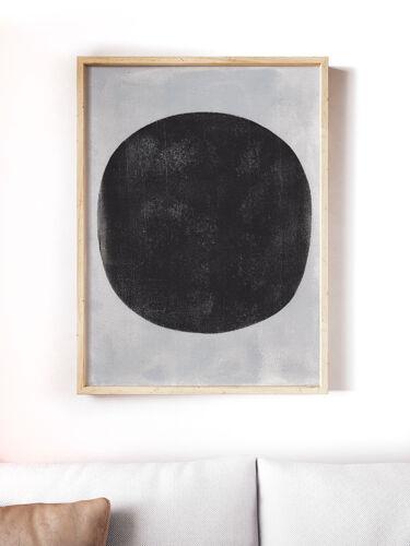 Peinture sur papier 30x40cm illustration datée et signée sans cadre S3N3