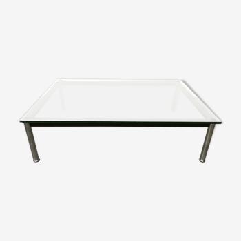 Table basse rectangulaire Le Corbusier LC10 par Cassina