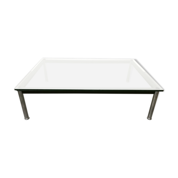 Selency Table basse rectangulaire Le Corbusier LC10 par Cassina