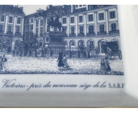 Cendrier à décor parisien