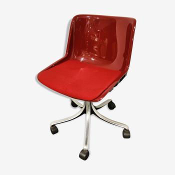 Chaise de bureau Osvaldo Borsani 'Modus' pour Tecno, années 1970