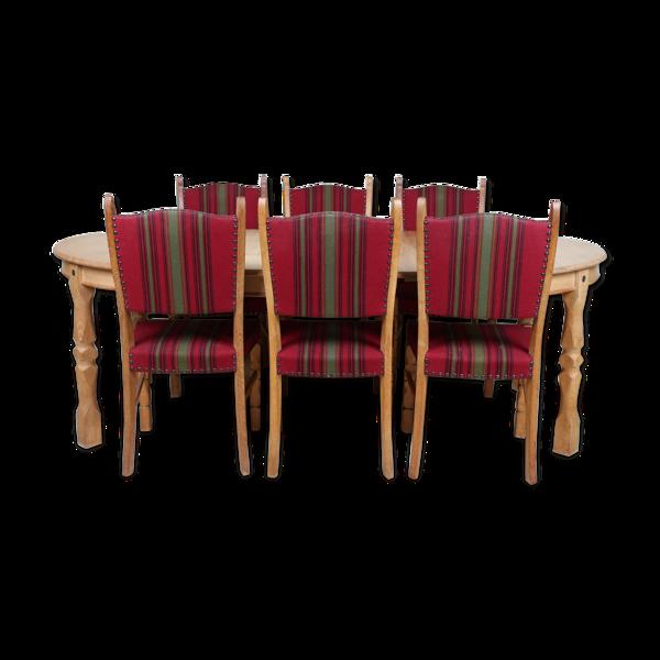 Selency Ensemble de salle à manger danois du milieu du XXe siècle
