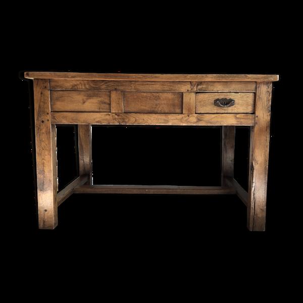 Selency Table en chêne morbihannaise