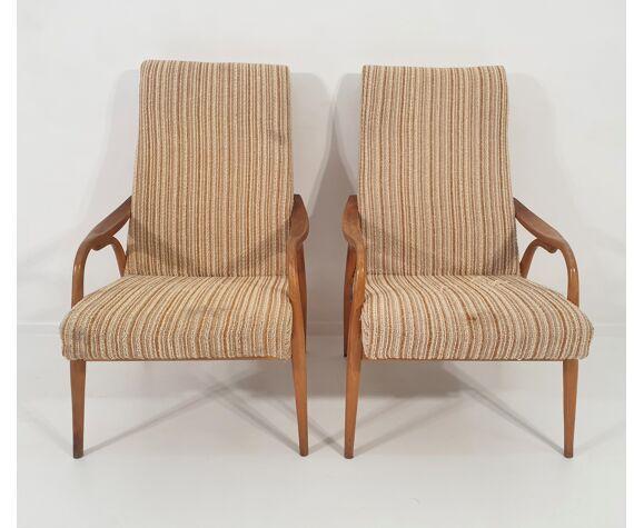 Paire de fauteuils de Jitona années 1970