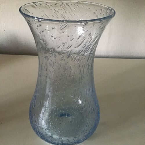 Vase Biot verre bulle