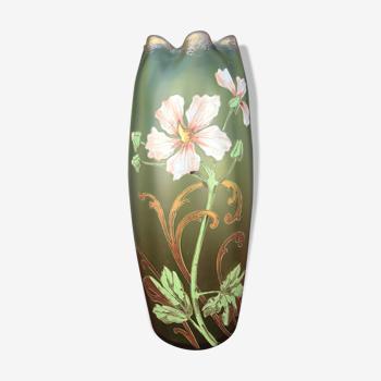 Vase émaillé Olga Legras