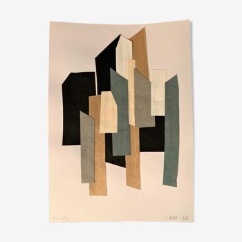 Collage série gris 6/10