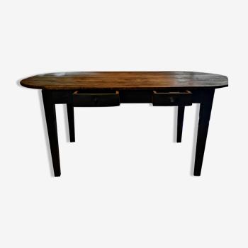 Table vintage bois massif