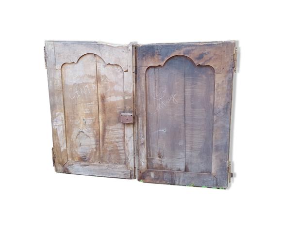 Paire de portes anciennes XVIIIéme/XIXème siècle