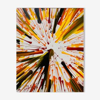 Variations colorées - expulsion cinétique n°1