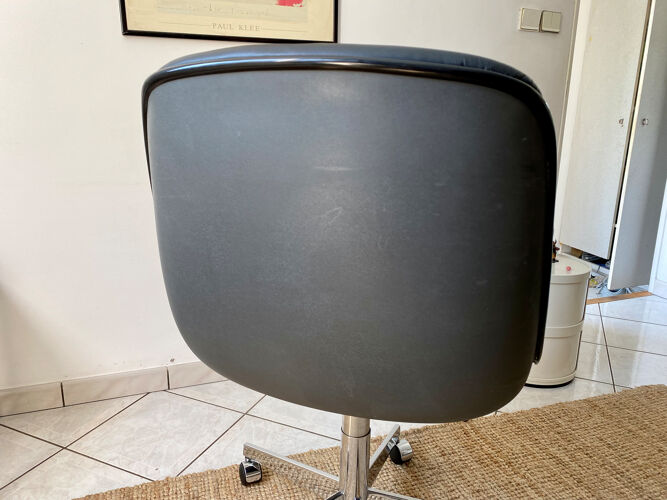 Fauteuil de bureau pivotant Steelcase Strafor design Randall Buck vintage années 70