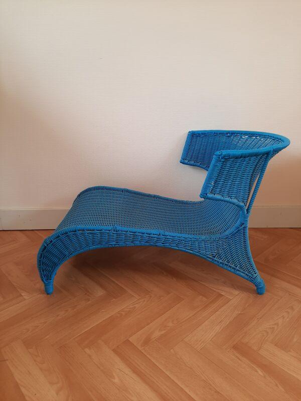Chaise longue par Monika Mulder pour ikea Suède