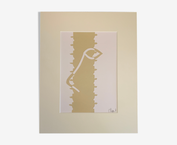 Collage 'Plain Vanilla II' de la série 'Silhouettes'