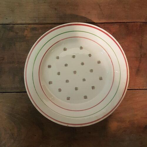 4 assiettes K.G Lunévilles