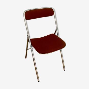 Chaise pliante vintage 70's